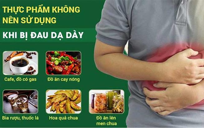 Triệu chứng bệnh dạ dày